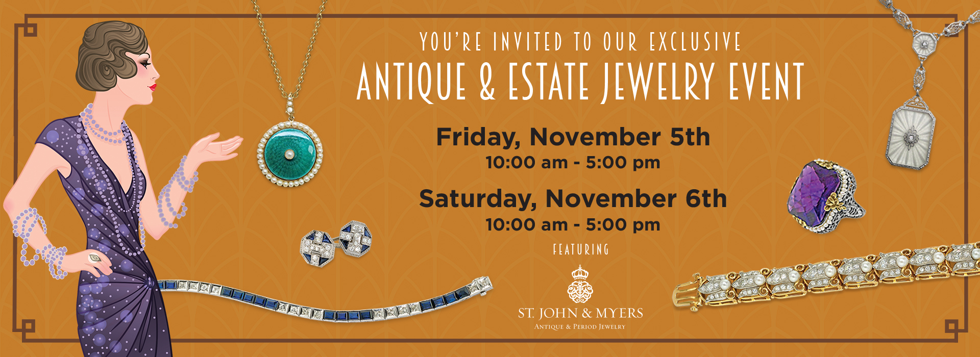 Antique and Estate Jewelry Event